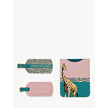 Buy Yvonne Ellen Passport Holder & Luggage Tags Set Online at johnlewis.com