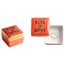 Buy Rosanna All You Need Is Love Trinket Box Online at johnlewis.com