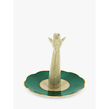 Buy Yvonne Ellen Giraffe Ring Holder, Green/White Online at johnlewis.com