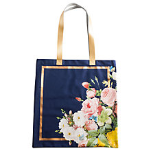 Buy Rosanna Seven Sisters Floral Tote Bag, Navy Online at johnlewis.com