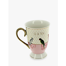 Buy Yvonne Ellen G&T Boxed Mug, White/Pink Online at johnlewis.com
