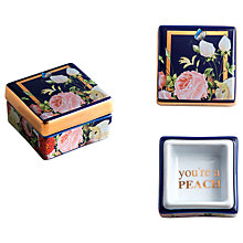 Buy Rosanna Seven Sisters Peach Trinket Box Online at johnlewis.com