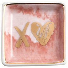 Buy Rosanna all You Need Is Love Trinket Dish XO Online at johnlewis.com