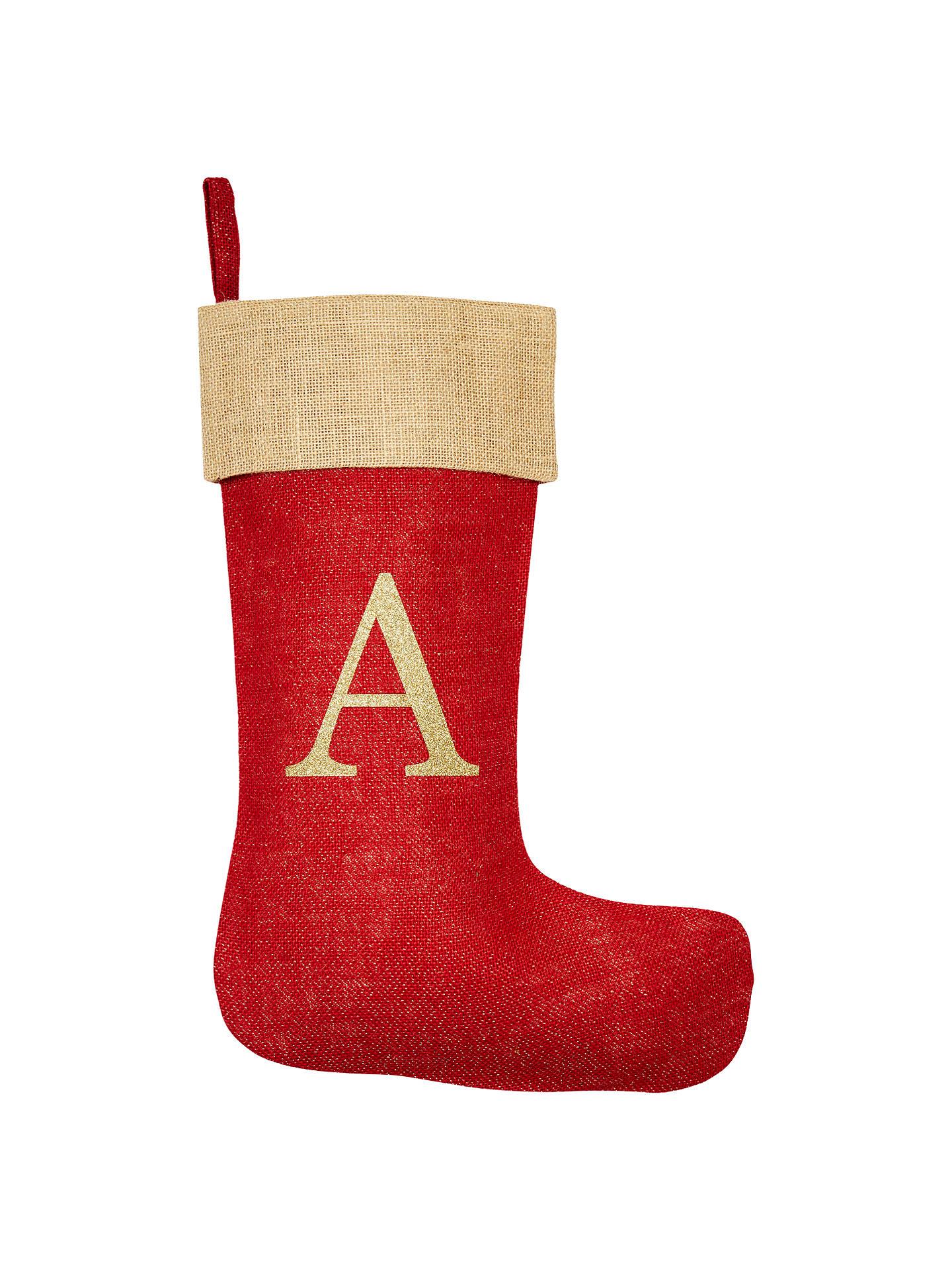 64bcc7e3c7dd Buy The Handmade Christmas Co. Personalised Christmas Stocking