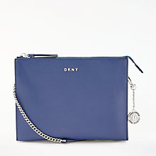 Buy DKNY Sutton Leather Cross Body Bag Online at johnlewis.com