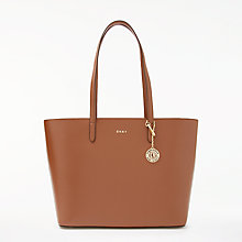 Buy DKNY Sutton Leather Large Tote Bag Online at johnlewis.com