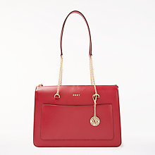 Buy DKNY Sutton Leather Large Top Zip Tote Bag Online at johnlewis.com