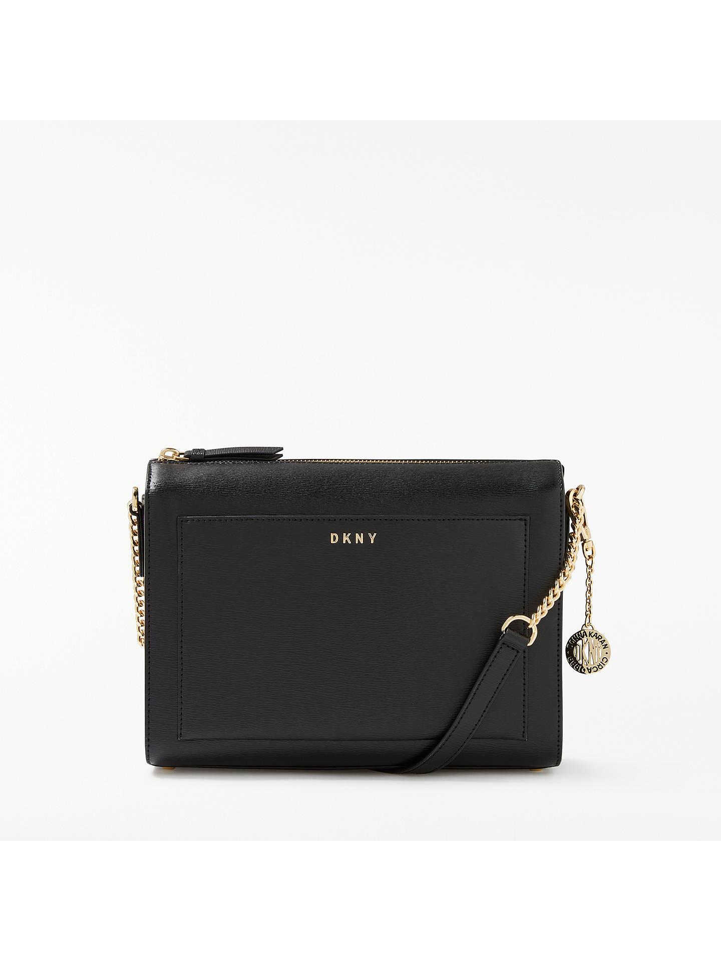 23ea058588c Buy DKNY Sutton Textured Leather Medium Cross Body Bag