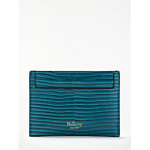 Buy Mulberry Continental Leather Credit Card Slip, Frozen Online at johnlewis.com