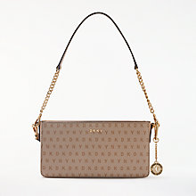 Buy DKNY Logo Cross Body Bag, Chino Online at johnlewis.com