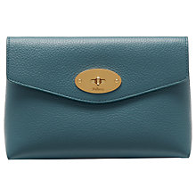Buy Mulberry Darley Small Classic Grain Leather Cosmetic Pouch Online at johnlewis.com
