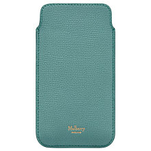 Buy Mulberry Natural Grain Leather iPhone Cover & Card Slip Online at johnlewis.com