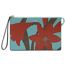 Buy Mulberry Small Classic Grain Leather Lily Patchwork Pouch Purse, Multi Online at johnlewis.com