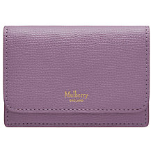 Buy Mulberry Continental Small Classic Grain Leather Card Holder Online at johnlewis.com