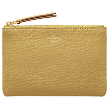 Buy Mulberry Small Classic Grain Leather Zip Coin Pouch Online at johnlewis.com