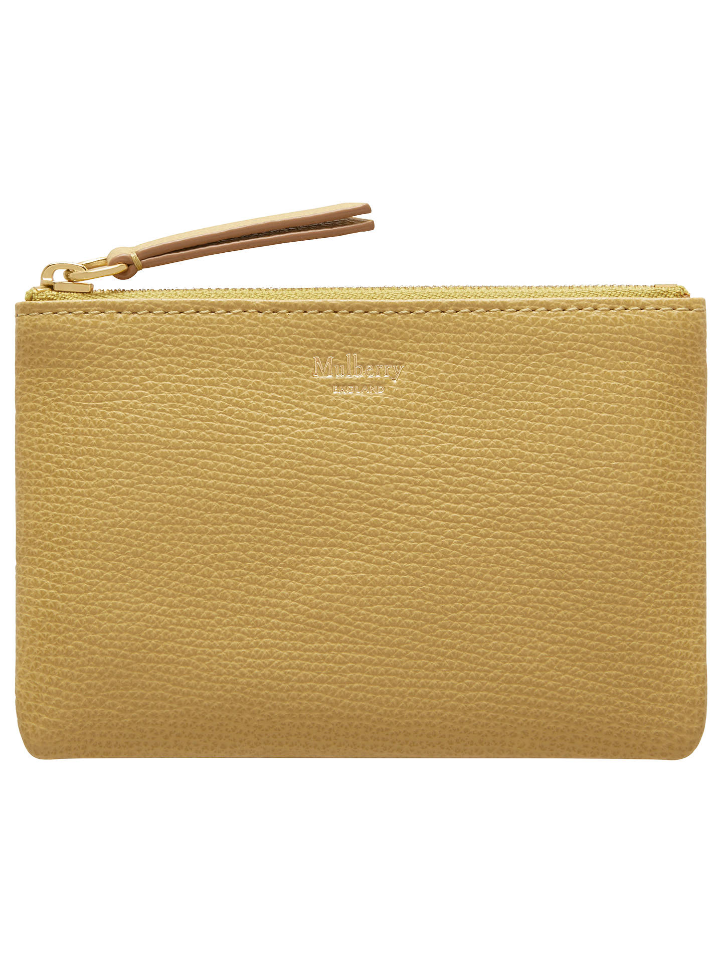 Mulberry Small Classic Grain Leather Zip