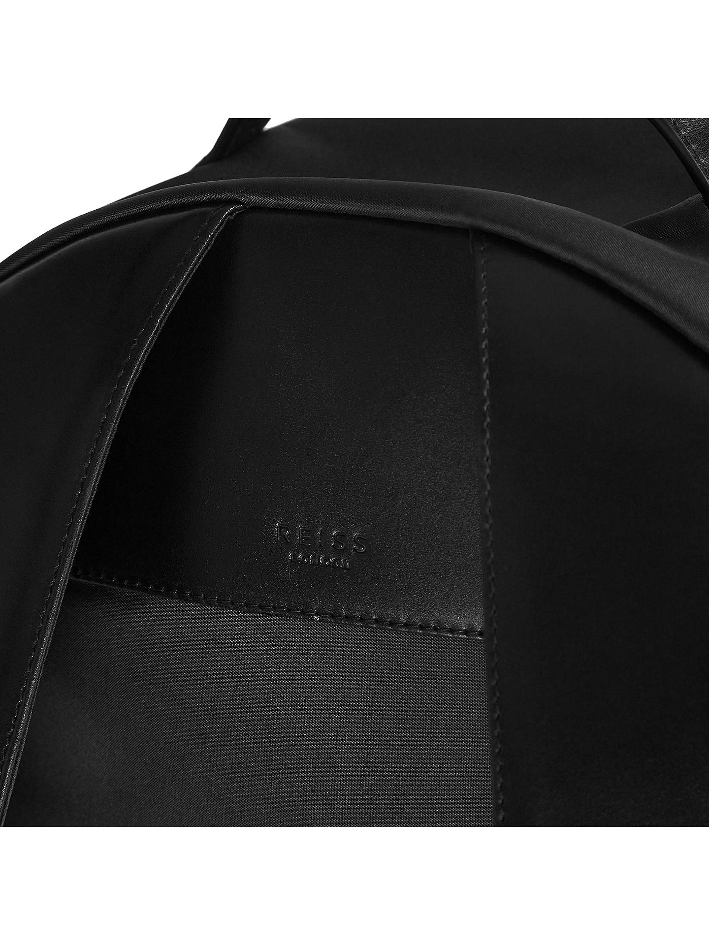 BuyReiss Ginger Backpack, Black Online at johnlewis.com