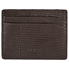 Buy Reiss Hellon Leather Card Holder Online at johnlewis.com