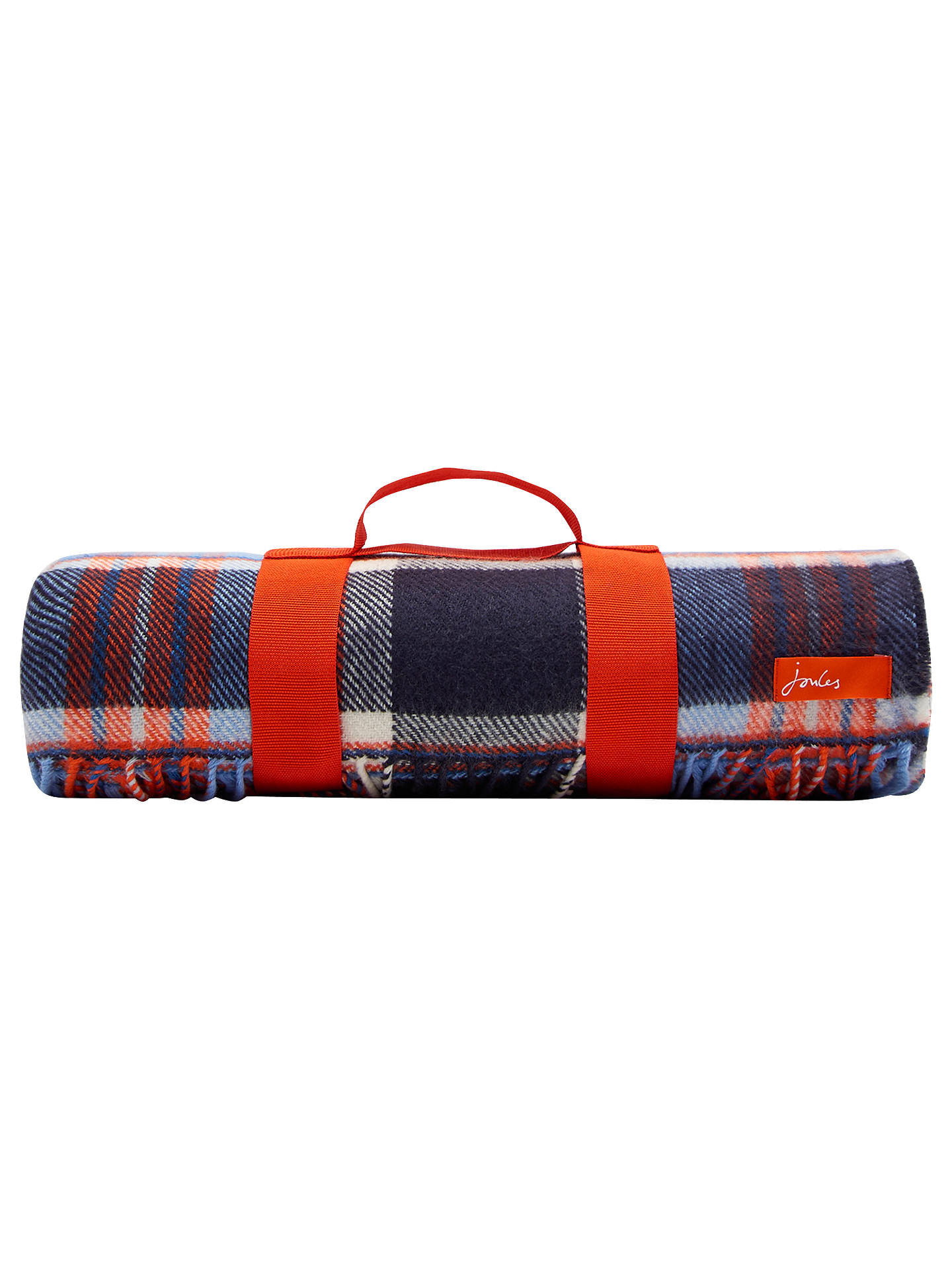Joules Woven Check Picnic Rug Online At Johnlewis Com