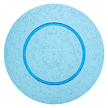 Buy John Lewis Poolside Bubble Picnic Plate, Dia.27.9cm, Blue Online at johnlewis.com