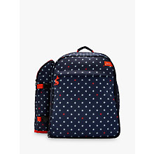 Buy Joules Starfish Filled Picnic Rucksack, Navy/Multi, 4 Person Online at johnlewis.com