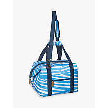 Buy John Lewis Poolside Family Tote Cooler Bag, Blue/White, 20L Online at johnlewis.com