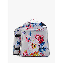 Buy Joules Whitstable Filled Floral Picnic Rucksack, 4 Person Online at johnlewis.com