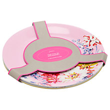Buy Joules Whitstable Floral Melamine Picnic Plates, Dia.28.5cm, Assorted, Set of 4 Online at johnlewis.com