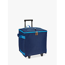Buy John Lewis Poolside Wheeled Trolley Cooler Bag, Navy, 36L Online at johnlewis.com