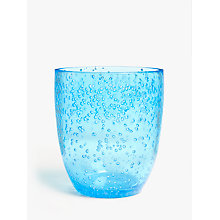 Buy John Lewis Poolside Bubble Plastic Tumbler, 350ml Online at johnlewis.com