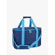 Buy John Lewis Poolside Tote Cooler Bag, Navy, 30L Online at johnlewis.com