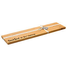 Buy Just Slate Scottish Oak Wood Food For Sharing Board Online at johnlewis.com