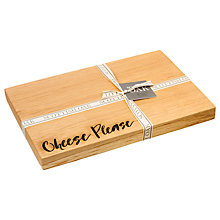 Buy Just Slate Scottish Oak Wood Cheese Please Board Online at johnlewis.com
