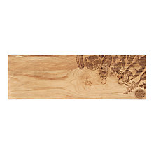 Buy Just Slate Scottish Oak Wood Organic Sharing Board, Natural Online at johnlewis.com