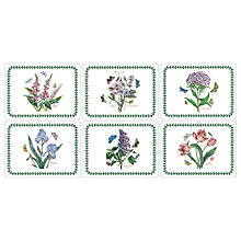 Buy Portmeirion Botanic Garden Placemats, Set of 6 Online at johnlewis.com