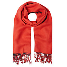 Buy White Stuff Claudia Midweight Scarf, Crimson Red Online at johnlewis.com