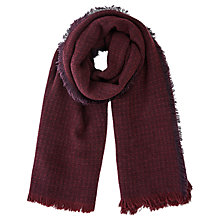 Buy Oasis Milan Textured Scarf, Pale Green Online at johnlewis.com