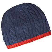 Buy White Stuff Ralph Cable Knit Hat Online at johnlewis.com