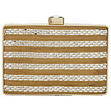 Buy Adrianna Papell Stone Embellished Clutch Bag, Gold/Silver Online at johnlewis.com