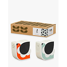 Buy Orla Kiely Frilly Chicken Salt and Pepper Shakers, Multi Online at johnlewis.com