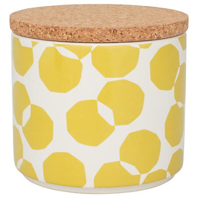 John Lewis Scandi Spot Kitchen Storage Jar, 1L