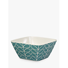 Buy Orla Kiely Linear Stem Bamboo Bowl, Dia.14.3cm Online at johnlewis.com