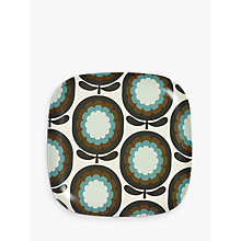 Buy Orla Kiely Cantaloupe Melon Large Bamboo Plate, 25cm Online at johnlewis.com
