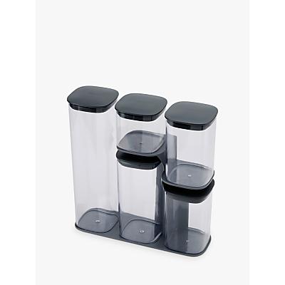 Joseph Joseph Podium Storage Container Set and Stand, 5 Pieces