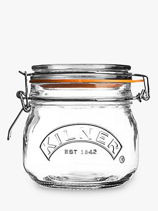 Kilner Cliptop Glass Jar, 500ml