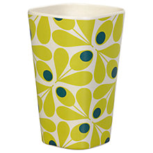 Buy Orla Kiely Spot Flower Bamboo Tumbler, 450ml Online at johnlewis.com
