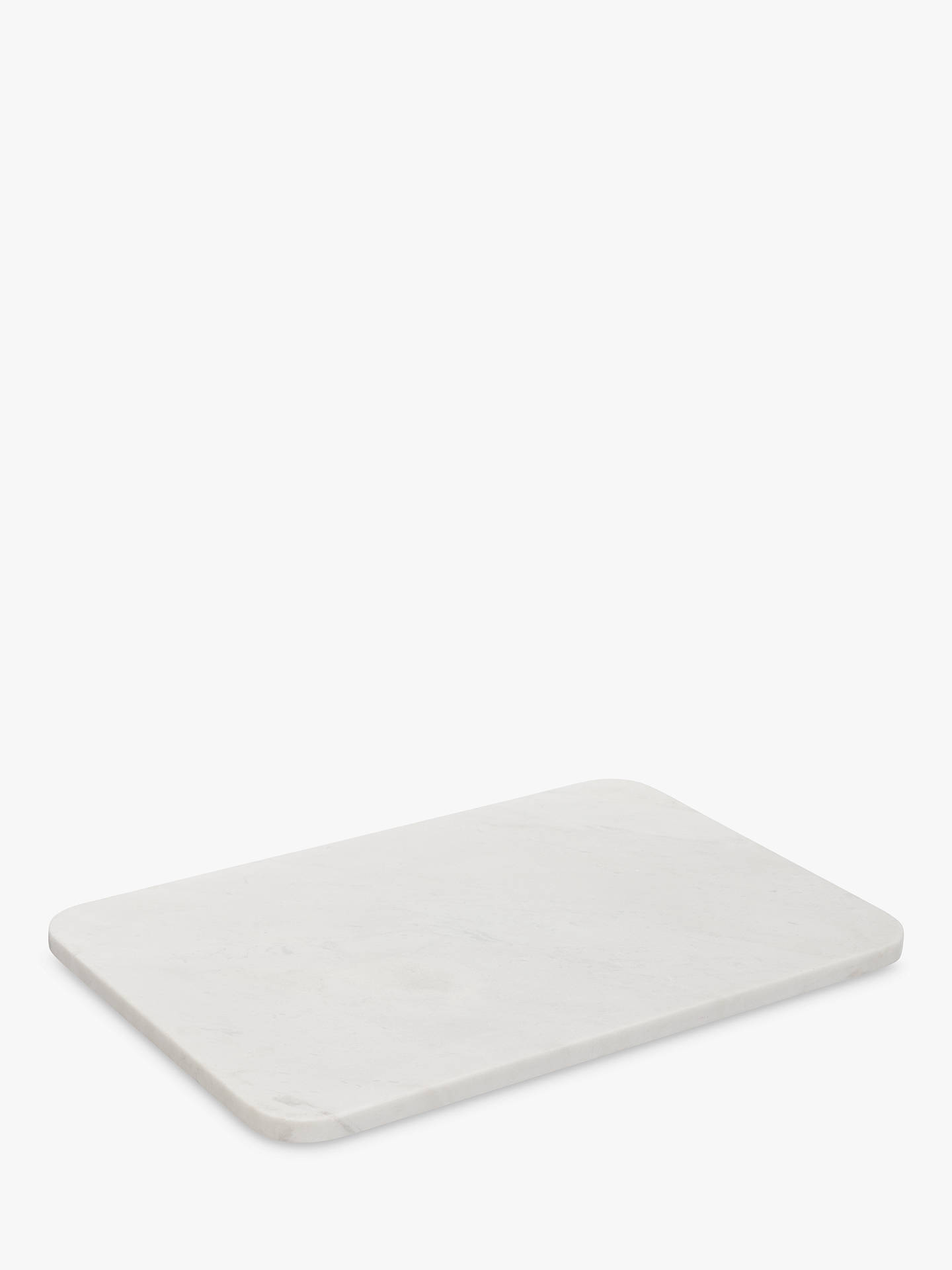 Buy Croft Collection Marble Board, White Online at johnlewis.com