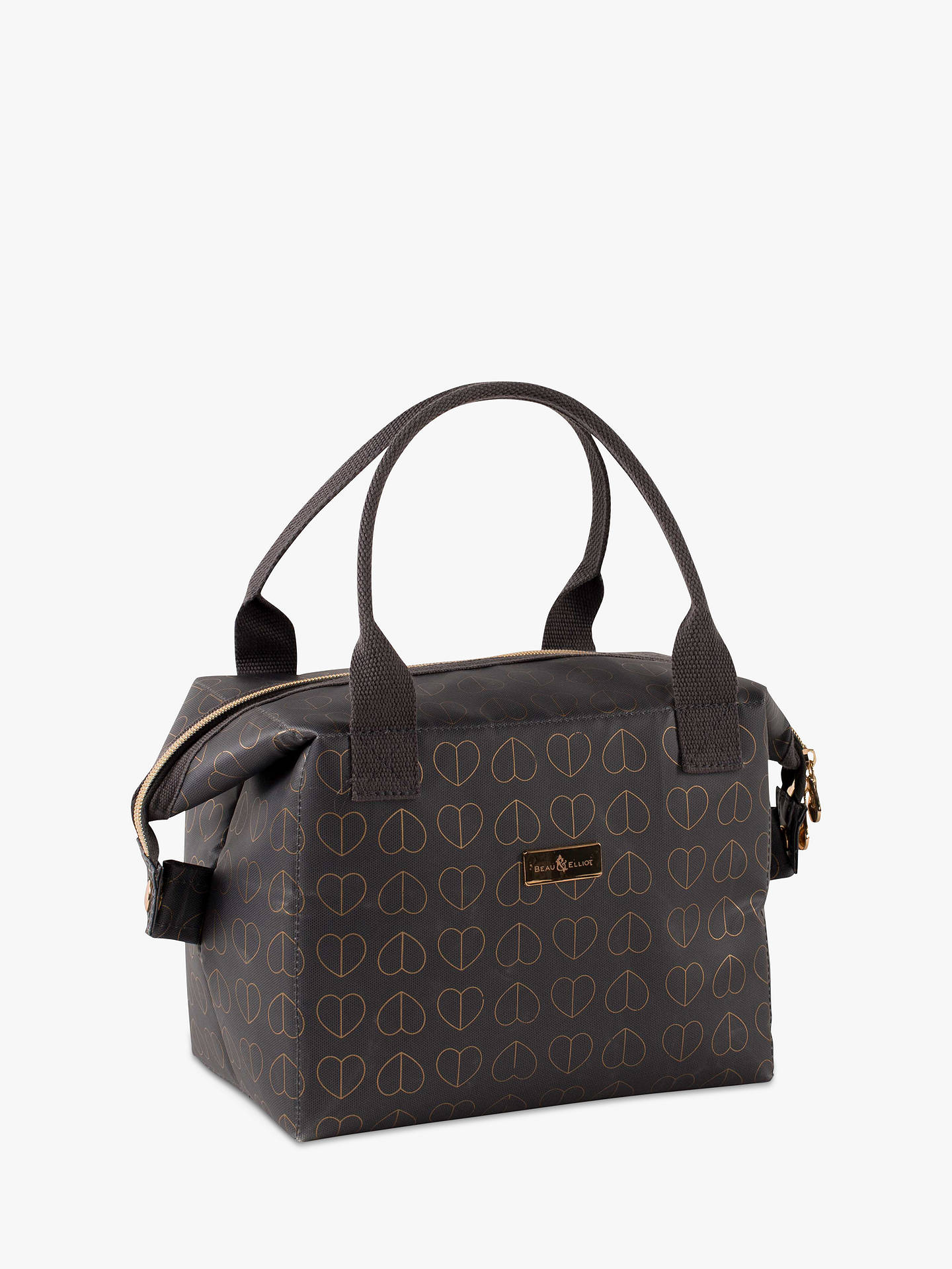 Buy Beau & Elliot Champagne Edit Convertible Lunch Cooler Tote Bag, Grey, 8L Online at johnlewis.com