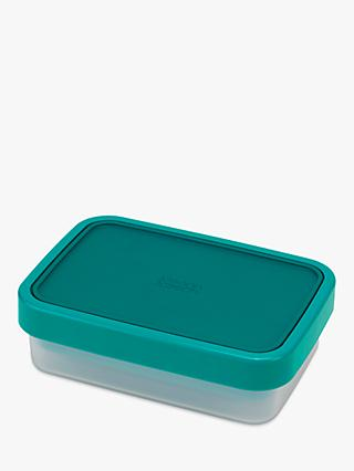 Joseph Joseph GoEat Compact 2-In-1 Lunch Box, Teal