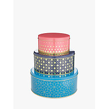Buy John Lewis Fusion Cake Tins, Assorted, Set of 3 Online at johnlewis.com